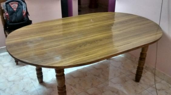 Dining Table Teak wood and chairs lowest price Place Thodupuzha 2df217021ef3