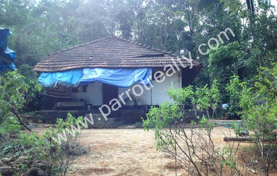 4 acre agricultural land with small house for sale in  Near Vellamunda May 2015